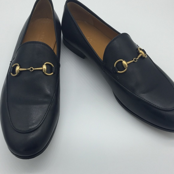 c419bd4eb7b Gucci Shoes | Jordaan Leather Loafer | Poshmark